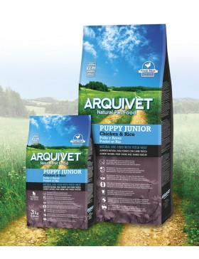 ARQUIVET DOG PUPPY JUNIOR POULET ET RIZ 3KG